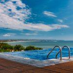 Neskočni bazeni so na Baliju zelo pogosti.